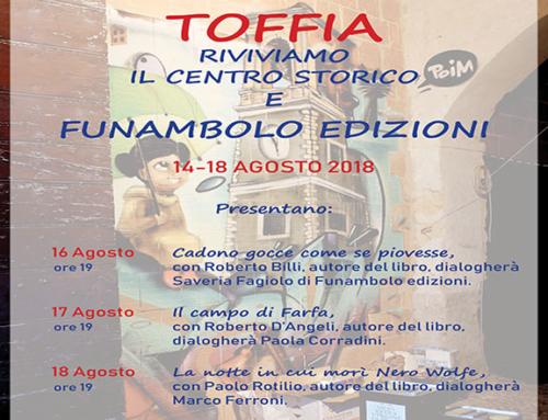 Riviviamo il Centro Storico di Toffia: Funambolo edizioni ci sarà
