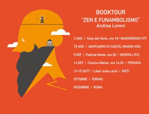 """""""Zen e funambolismo"""" booktour: ecco il calendario"""