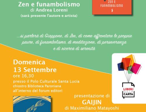 Liberi sulla Carta: la locandina degli eventi di Funambolo