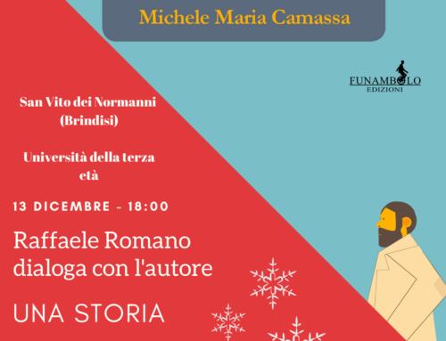 """13 dicembre """"Una storia all'italiana"""" a San Vito dei Normanni"""
