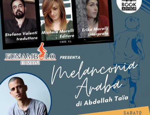 30 maggio. Abdellah Taia ospite in diretta di Book Advisor e Funambolo edizioni